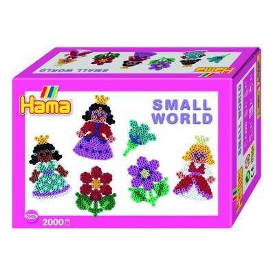 Hama Midi - malý svet - princezná