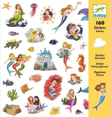 Samolepky - Mořské panny
