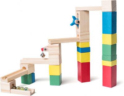 Guľôčková dráha – stavebnica – 26 ks