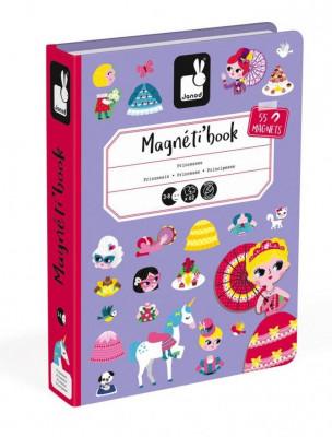 Magnetická kniha - Princezny