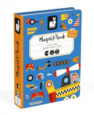 Magnetická kniha skladačka - Dopravné prostriedky