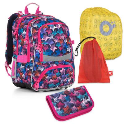 Set pre školáka TOPGAL CHI 867 D + CHI 891 + vrecko na prezuvky, pláštenka na batoh