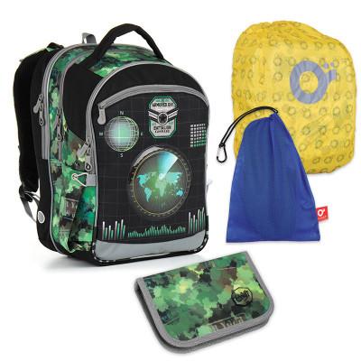 Set pre školáka TOPGAL - CHI 883 E + CHI 919 + vrecko na prezuvky, pláštenka na batoh