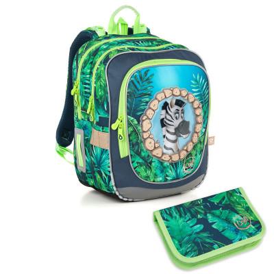 Školský batoh a peračník Topgal ENDY18010 B