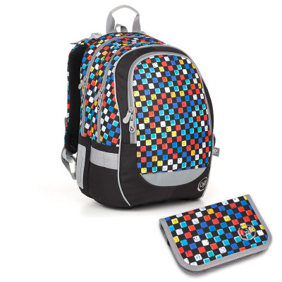 Školský batoh a peračník Topgal CODA18020 B