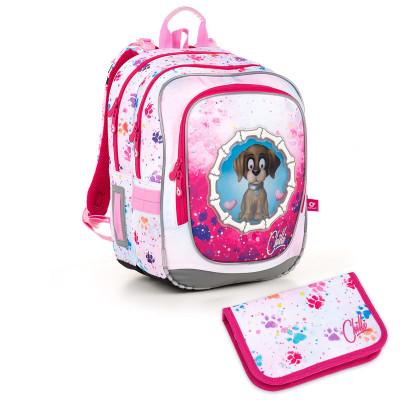 Školský batoh a peračník Topgal ENDY 18017 G