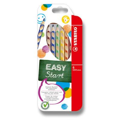 Farbičky Stabilo EASYcolors - 6 farieb, pre ľavákov