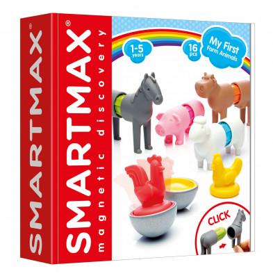 SmartMax - Moje prvé zvieratká z farmy - 16 ks