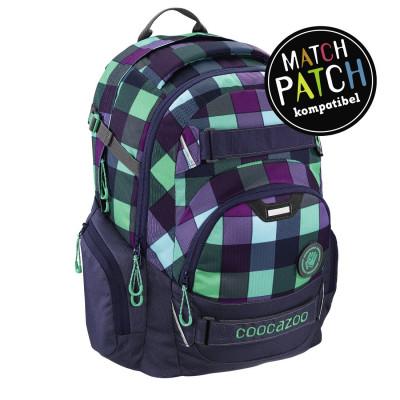 Školský batoh Coocazoo CarryLarry2, Green Purple District