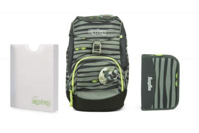 Školní set Ergobag prime Super ninja - batoh + penál + desky