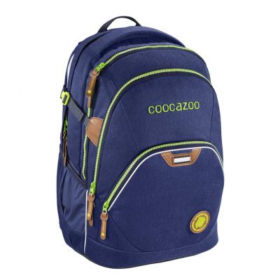 Školský batoh Coocazoo EvverClevver2, Denim Blu, certifikát AGR