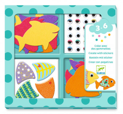 Hra so samolepkami–- Máme radi rybky