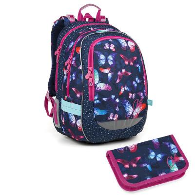 Školský batoh a peračník Topgal - CODA 18045 G