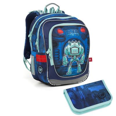 Školský batoh a peračník Topgal ENDY 18047 B