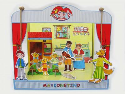 Marionetino - Bábkové divadlo - Trojrozprávka Budulínok
