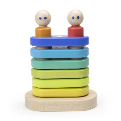 Magnetická stohovacia hračka TEGU