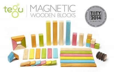 Magnetická stavebnice TEGU Tints - 42 dílů