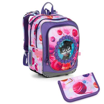 Školský batoh a peračník Topgal ENDY 19005 G