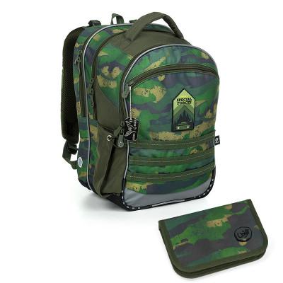 Školský batoh a peračník Topgal COCO 19015 B