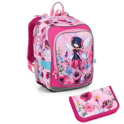 Školský batoh a peračník Topgal ENDY 19003 G