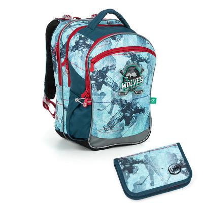 Školský batoh a peračník Topgal COCO 19012 B