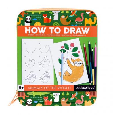Ako nakresliť zvieratká