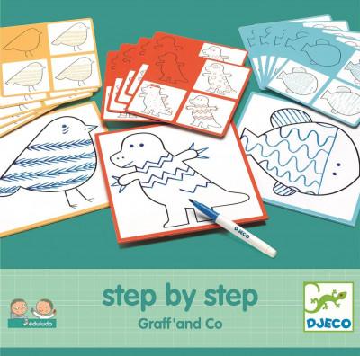 Maľovanie krok za krokom – Grafomotorika