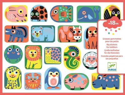 Samolepky pre najmenších – Zvieratká malé aj veľké