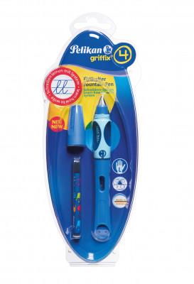 Bombičkové pero Griffix 4 pre ľavákov - modré