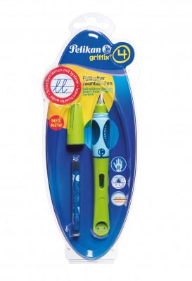 Bombičkové pero Griffix 4 pre pravákov - zelené