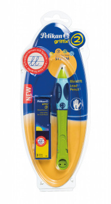 Ceruzka Griffix 2 pre ľavákov - zelená