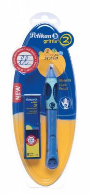 Ceruzka Griffix 2 pre pravákov - modrá
