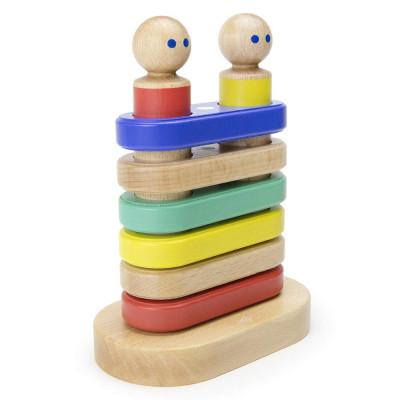 Magnetická stohovacia hračka TEGU - Big Top