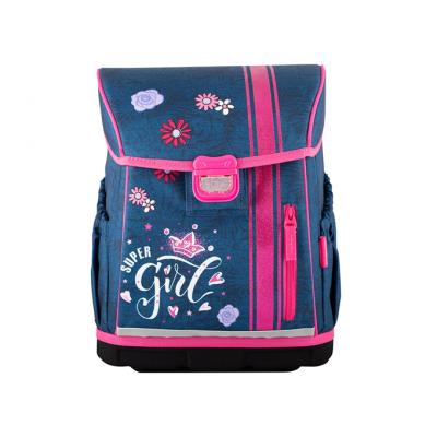 HAMA Školská taška pre prváčikov, Jeans Girl