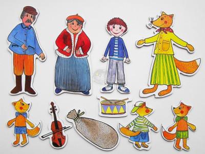 Marionetino - Bábkový balíček bez tyčiek - Budulínek