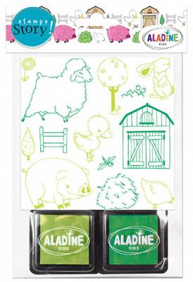 Rozprávacie pečiatky StampoStory – farma