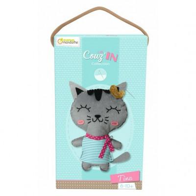 Levně Dětské šití - kočička Tina