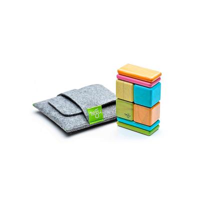 Magnetická stavebnica TEGU do vrecka – Tints – 8 ks