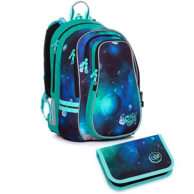 Školský batoh a peračník Topgal LYNN 20019 B