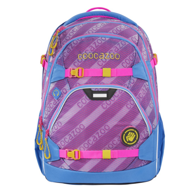 Školský ruksak coocazoo ScaleRale, MeshFlash Neonpink, certifikát AGR