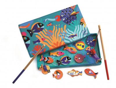Kto chytí farebnú rybku?