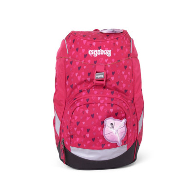 Školní batoh Ergobag prime - Pink Hearts 2020