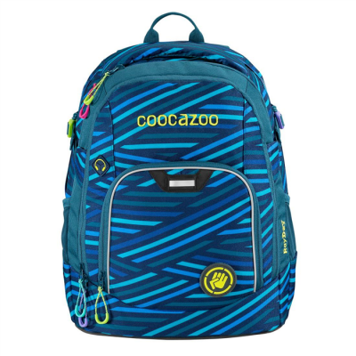 Školský ruksak coocazoo RayDay, Zebra Stripe Blue