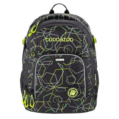 Školský ruksak Coocazoo Rayday, Laserbeam Black
