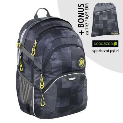 Školský batoh Coocazoo JobJobber2, Mamor Check + športový vak za 0,05 EUR