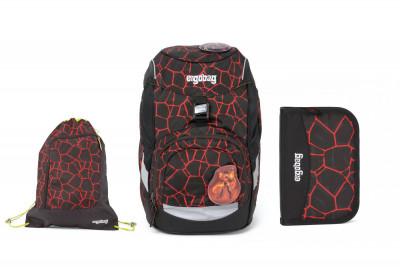 Školní set Ergobag prime Super Hero 2020 - batoh + penál + sportovní pytel
