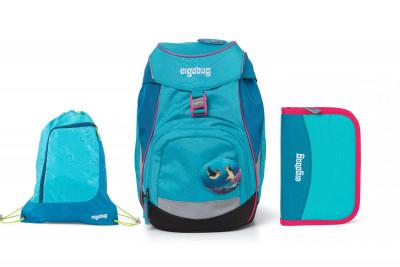 Školní set Ergobag prime Tropical 2020 - batoh + penál + sportovní pytel