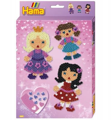 Hama midi – Darčeková súprava – Dievčatká – 2000 ks
