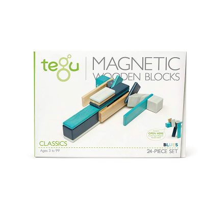 Magnetická stavebnice TEGU Blue - 24 dílů