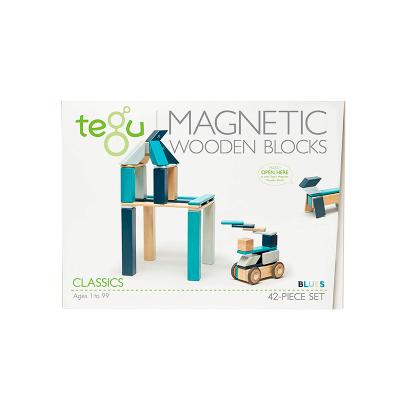Magnetická stavebnice TEGU Blue - 42 dílů